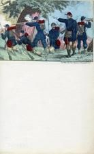 04x069.19 - Union commander instructing troops in battle, Civil War Illustrations from Winterthur's Magnus Collection